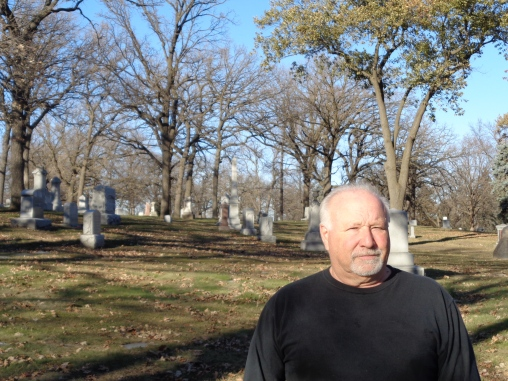 Bob Shoenrock at Oakland Cemetery